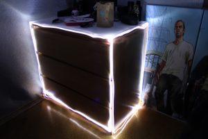 Lichtmalerei Objekt